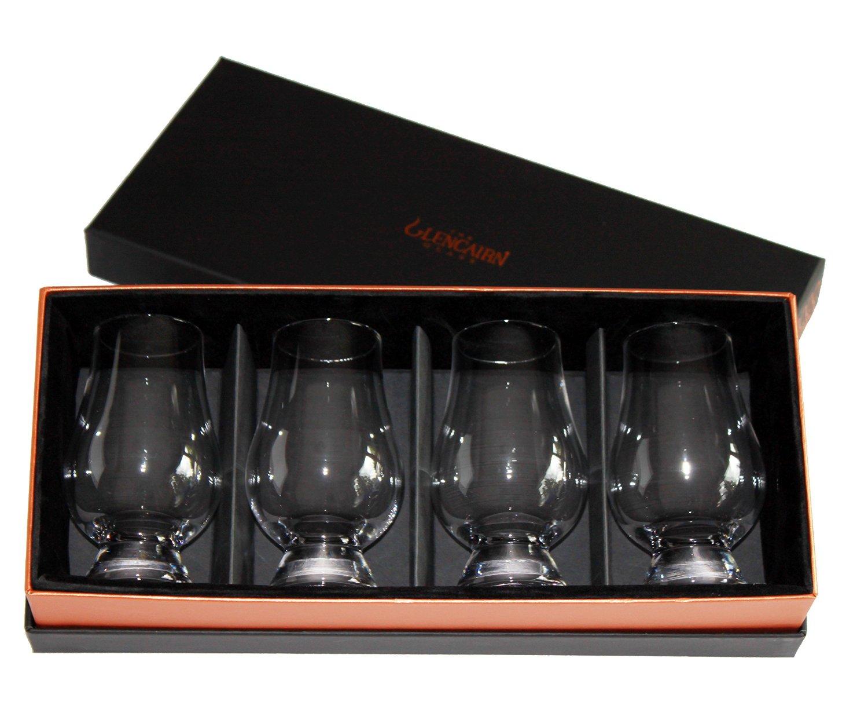 glencairn whisky glass set of 4 in deluxe velvet gift box. Black Bedroom Furniture Sets. Home Design Ideas