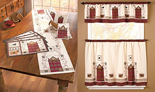 Kitchen table runners gallery table decoration ideas watchthetrailerfo primitive home collection table runner placemats window valance primitive home collection table runner placemats window valance workwithnaturefo
